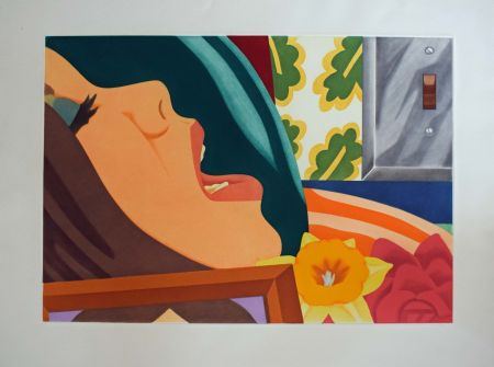 Aguatinta Wesselmann - Bedroom face