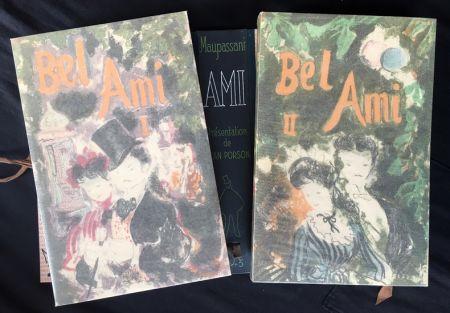 Libro Ilustrado Grau Sala - BEL-AMI. Lithographies originales de Grau-Sala