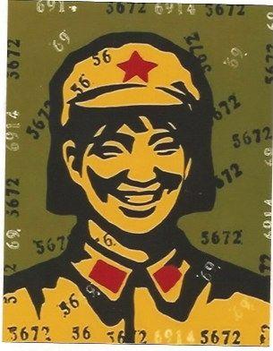 Litografía Guangyi - Beleif 1