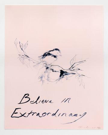 Litografía Emin - Believe in Extraordinary
