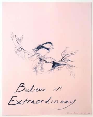 Litografía Emin - Believe in Extraordinary