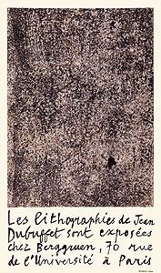 Litografía Dubuffet - Berggruen