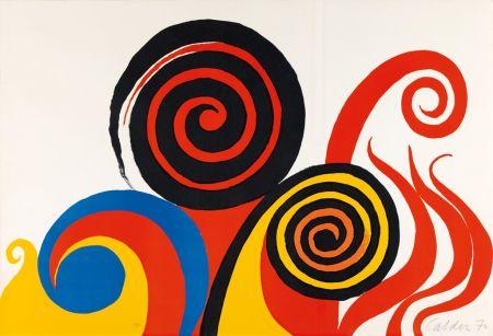 Litografía Calder - Berkeley