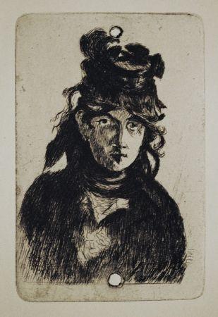 Grabado Manet - Berthe Morisot