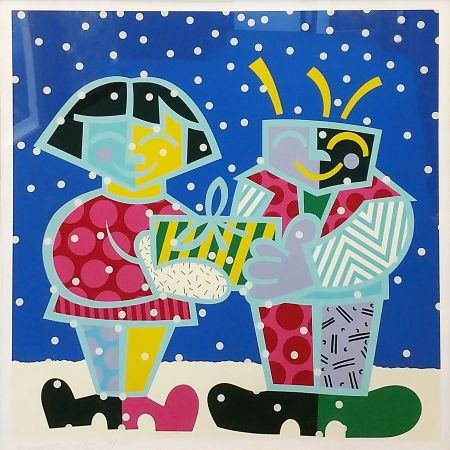 Serigrafía Britto - BEST BUDDIES