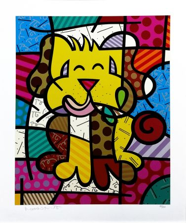 Serigrafía Britto - BEST FRIEND