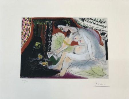 Aguafuerte Y Aguatinta Picasso - Betsabée