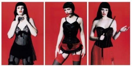 Fotografía Lagrange - Betty Page Trilogy (triptych)