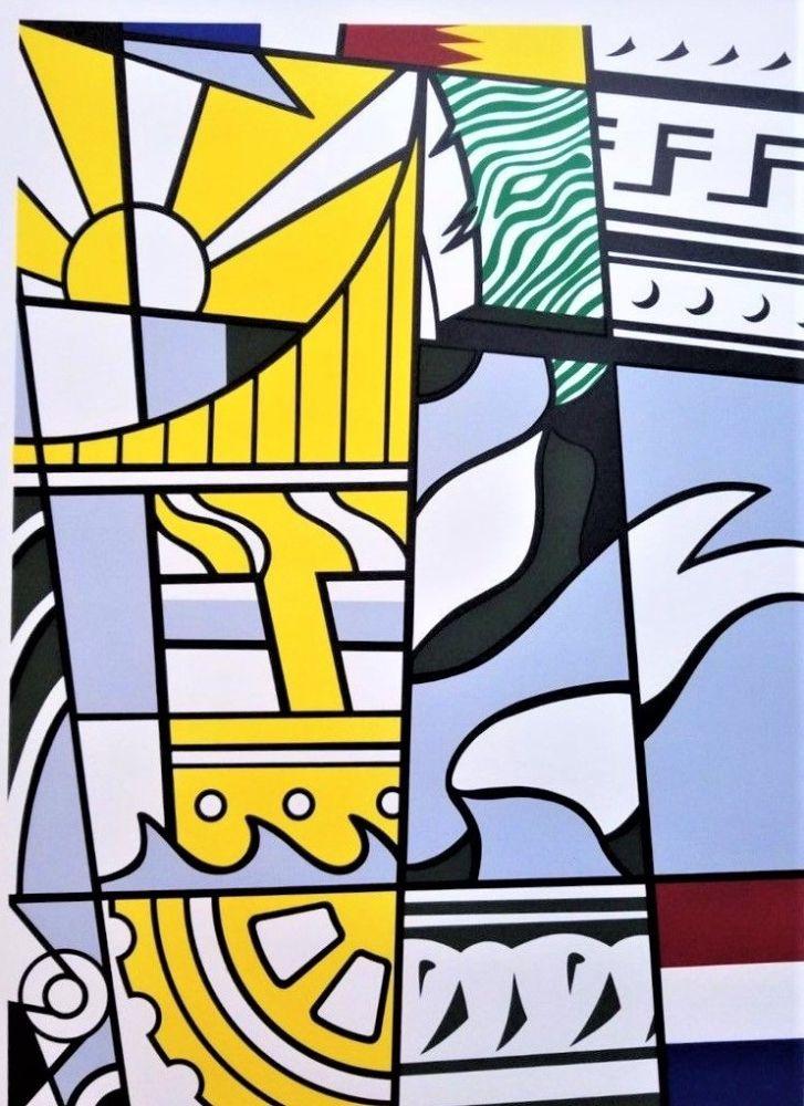 Litografía Lichtenstein - Bicentennial Print