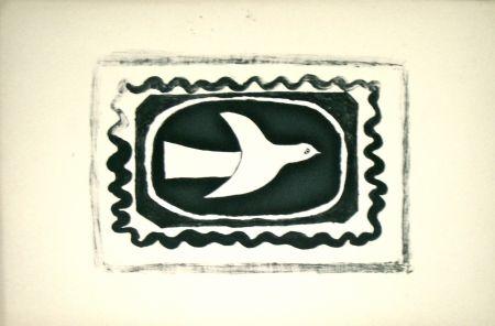 Litografía Braque - Bird VII