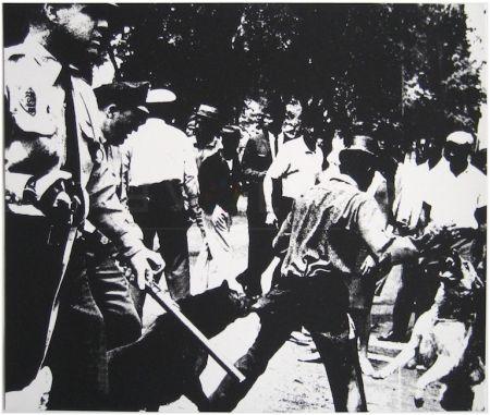 Serigrafía Warhol - Birmingham Race Riot (FS II.3)