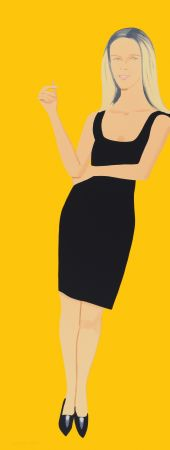 Aguafuerte Y Aguatinta Katz - Black Dress - Yvonne