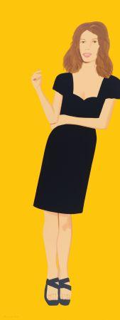 Serigrafía Katz - Black Dress -Cecily