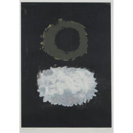 Serigrafía Gottlieb - Black Field