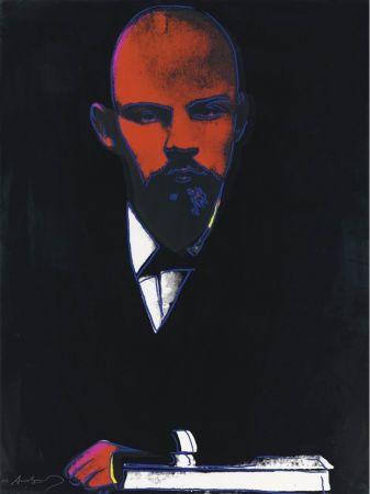 Serigrafía Warhol - Black Lenin (FS II.402)
