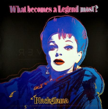 Serigrafía Warhol - Blackglama (FS II.351)