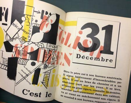 Libro Ilustrado Leger - Blaise Cendrars : La Fin Du Monde Filmée Par L'Ange N.-D. Roman. Compositions en Couleurs par Fernand Léger.
