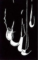Litografía Blais - Blanc sur noir 1