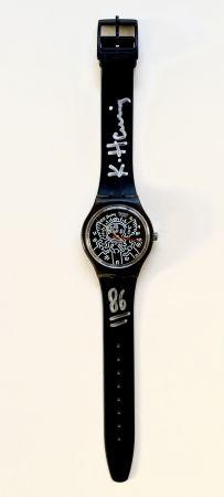 Sin Técnico Haring - Blanc sur Noir (GZ104), watch