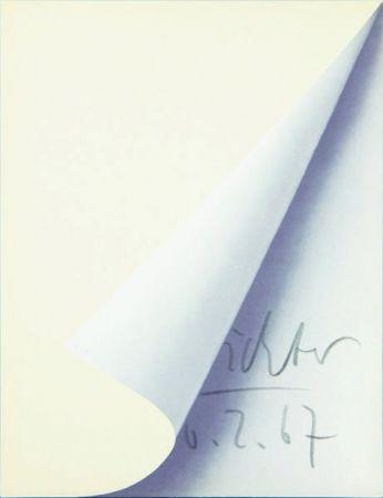 Litografía Richter - Blattecke (Cantz 11)