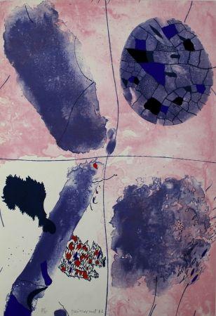 Litografía Guinovart - Blaus