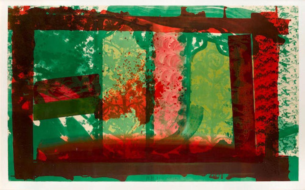 Litografía Hodgkin - Bleeding