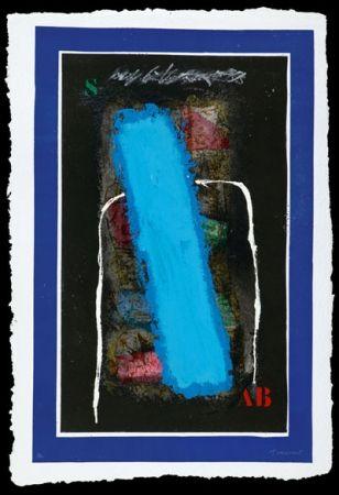 Carborundo Coignard - Bleu vertical