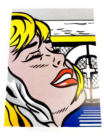 Litografía Lichtenstein - Blonde