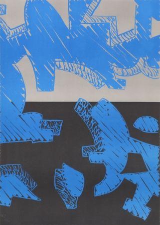 Litografía Accardi - Blu