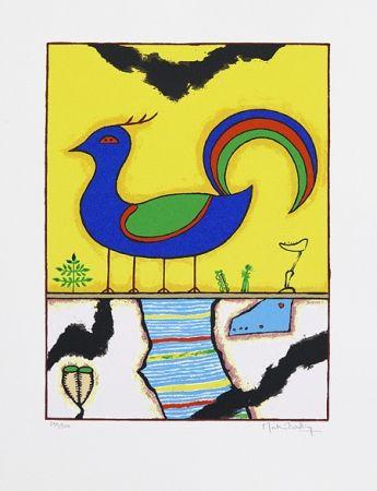 Serigrafía Bradley - Blue Bird