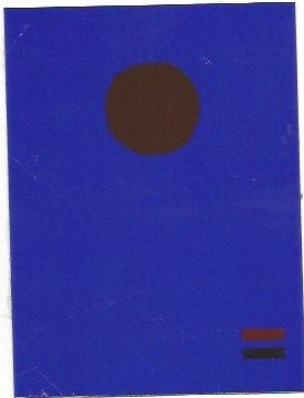 Serigrafía Gottlieb - Blue night