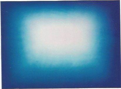 Aguafuerte Y Aguatinta Kapoor - Blue shadow 3