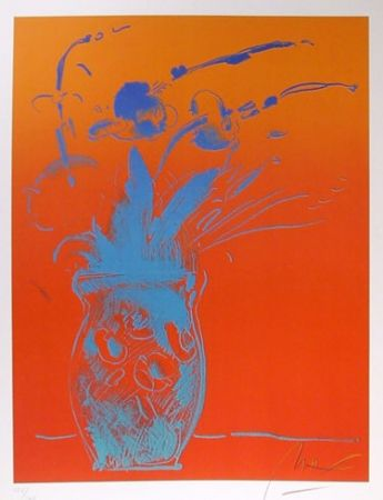 Litografía Max - Blue Vase