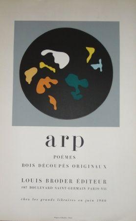 Grabado En Madera Arp - Bois découpés originaux