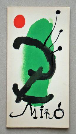 Libro Ilustrado Miró - Bois gravés pour un poème de Paul Eluard