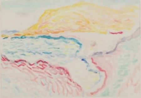 Colografía Matisse - Bord de la mer, Collioure