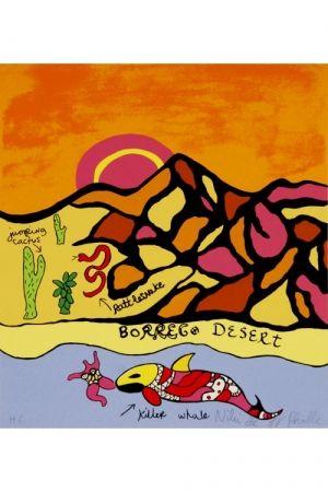 Litografía De Saint Phalle - Borrego desert