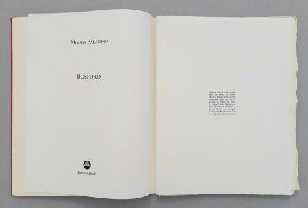 Linograbado Paladino - Bosforo, 1982