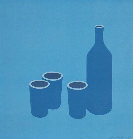 Serigrafía Caulfield - Bottle and Cups