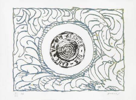 Litografía Alechinsky - Bouche D'eau Iii
