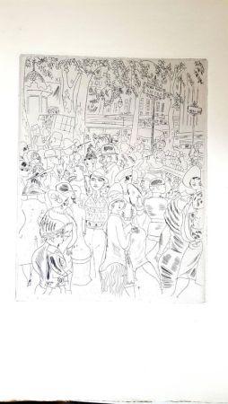 Litografía Laborde - Boulevard Capucine