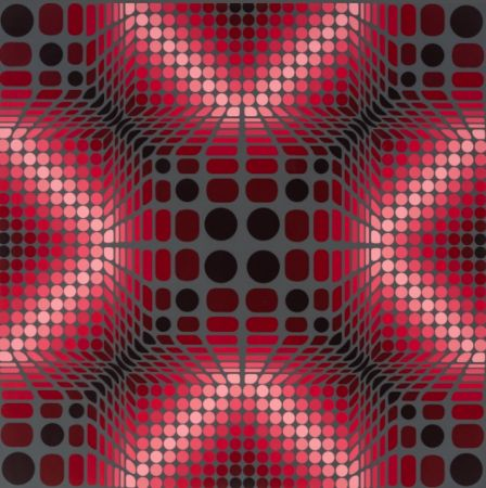 Serigrafía Vasarely - Boulouss