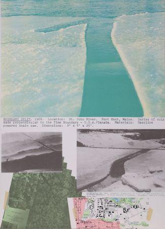 Litografía Oppenheim - Boundary Split