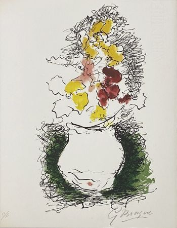 Litografía Braque - Bouquet