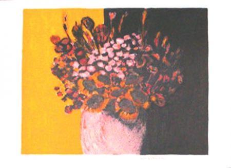 Litografía Allenbach - Bouquet champetre