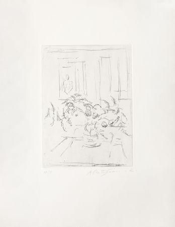 Grabado Giacometti - Bouquet I