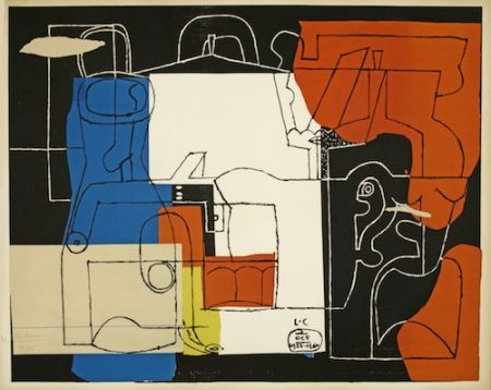 Litografía Le Corbusier - Bouteilles (hand-signed & numbered)