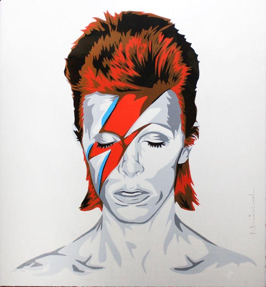 Serigrafía Mr. Brainwash - Bowie
