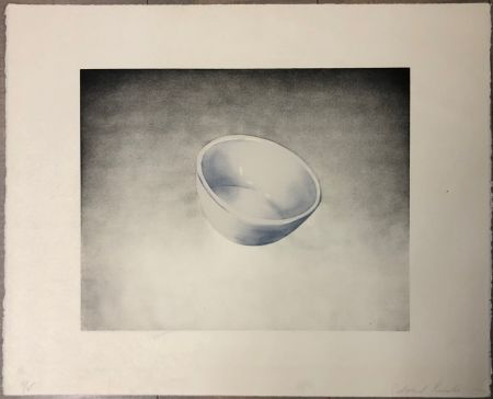 Litografía Ruscha - Bowl, from domestic tranquility series