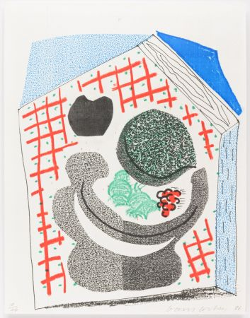 Sin Técnico Hockney - Bowl of Fruit